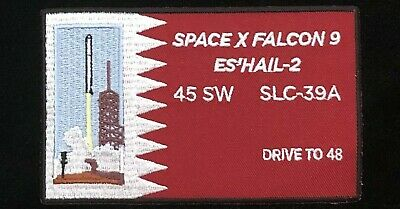 Spacex Falcon 9 Es'hail-2 45Sw Slc-39A Drive To 48 Ccafs Patch