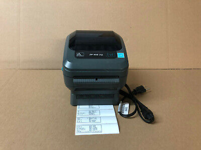 ZEBRA ZP450 THERMAL Label Barcode Printer 1000 Labels Free