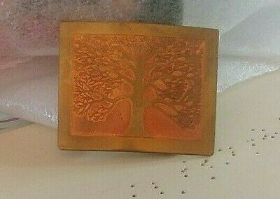 """Horizon Solid Brass and Pure Copper  2 3/4"""" x 2 1/4 """"  Decorative Belt Buckle"""