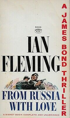 JAMES BOND  From Russia With Love 1964 paperback book