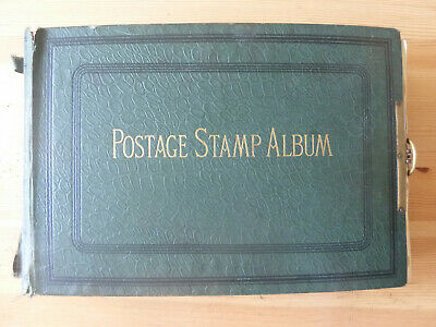 Worldwide Large Early Stamp Collection In Old Lincoln Album~Many Classic~290Pics