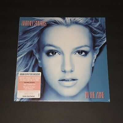 Britney Spears - In The Zone Lp Vinyl Urban Outfitters Sold Out Madonna Blue New