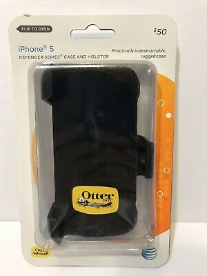 Otterbox Defender Pro Series Case for Apple iPhone 5/5s/SE with Holster Black