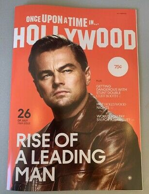 Once Upon a Time in Hollywood Magazine Exclusive Day of Release - Tarantino