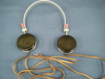 SG Brown Headphones Type F - Made in England