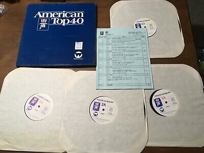 AMERICAN TOP 40 W/ CASEY KASEM 10/19/74 PROGRAM No 744-3 3