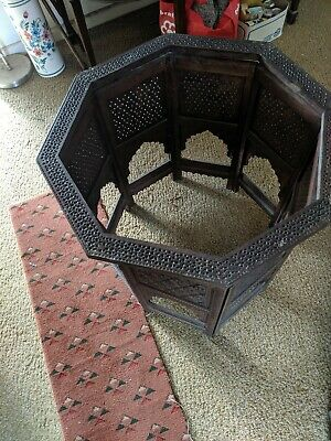 Indian Vintage Brass painted Table