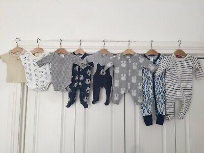 Baby Mixed Clothing, 11 items, Size 0000 - 000, Seed, Bonds, Marquise, Cotton On