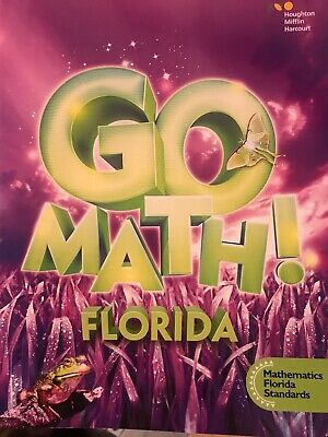 GO MATH FLORIDA 1st FIRST GRADE 1 Common Core Student