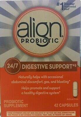 NEW Align Probiotic Digestive Support 42 count Cost price wholesale EXP11/21