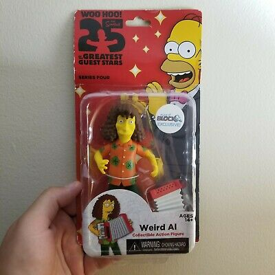 """NECA The Simpsons Series 1 25th Anniversary 5.1/"""" James Brown Action Figures"""