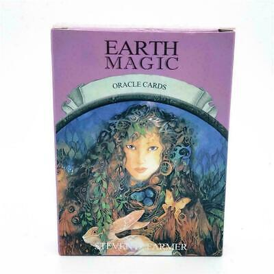 Magic Oracle Cards Earth Magic by Steven Farmer Tarot Deck FREE Priority Post AU