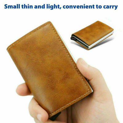 Credit Card Holder Men's Money cash Wallet Clip RFID Blocking Purse AU SHIP
