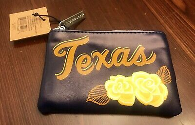starbucks limited edition 2019 Texas Coin Purse Wallet Brand New Authentic