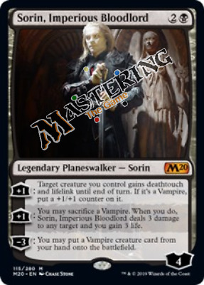 1x Sorin, Imperious Bloodlord M20 Core Set 2020 MtG MasteringtheGame, 4x Avail