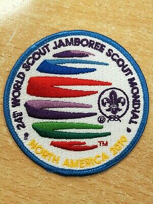 2019 24th World Scout Jamboree - Official Adult Badge/Patch - Blue border