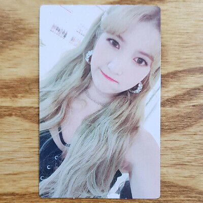 Sowon Official Photocard GFriend Time for us 2nd Album Kpop Genuine