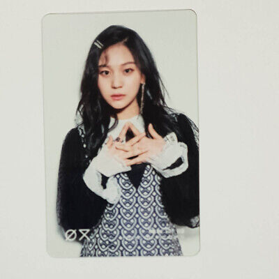 Umji Official Clear Photocard GFriend Time for us 2nd Album Kpop Genuine