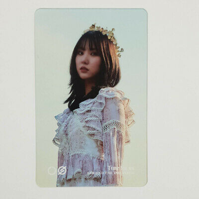 Eunha Official Clear Photocard GFriend Time for us 2nd Album Kpop Genuine