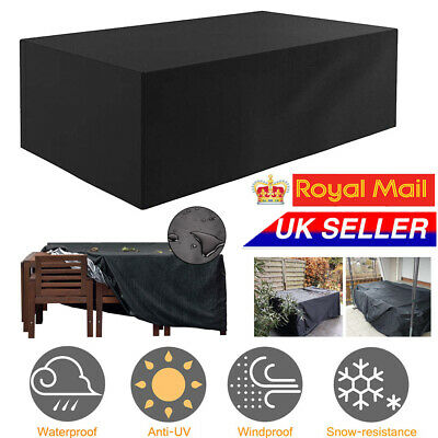 Waterproof Heavy Duty Garden Patio Furniture Cover Covers Outdoor Rattan Table