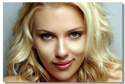 Poster Scarlett Johansson Movie Actor Star Club Wall Art Print 223