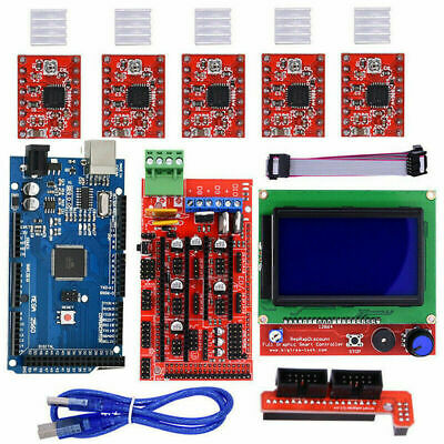 ARDUINO RAMPS 1 4+MEGA2560+A4988+12864 LCD Controller for 3D