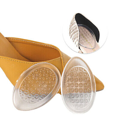 Heel Pads Shoe Pad Invisible Support Cushion Insole Gel Insert Pain Relief 3T