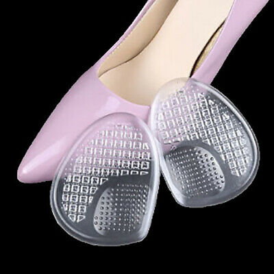 Silicone Gel Front Forefoot Pads Soft Pain Relief High Heels Half Palm Insoles3T