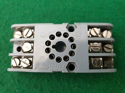 Potter & Brumfield 11 Pin Relay Socket
