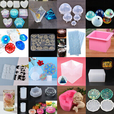 Silicone Jewelery Storage Box Resin Mold Making Epoxy Mould Casting Craft DIY