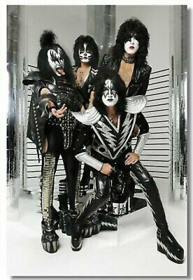 Poster KISS Band Heavy Metal Music Band Group Club Wall Art Print 207