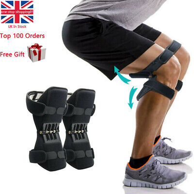 Fitness Patella Booster Spring Knee Brace Support for Mountaineering Squat Sport