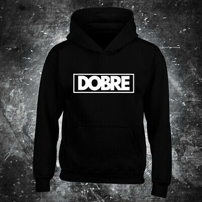DOBRE HOODIE text brothers Marcus Lucas Kids Boys Girls top youtube Gift