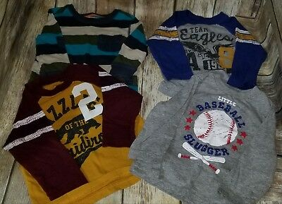 EUC Baby Boy's Long Sleeved Shirts Size 12-18 Months & 18 Months #540