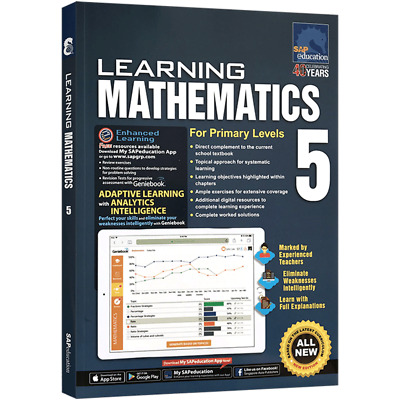 SAP Education Learning Mathematics For Primary Levels 5 - For AU Year 5 Year 6