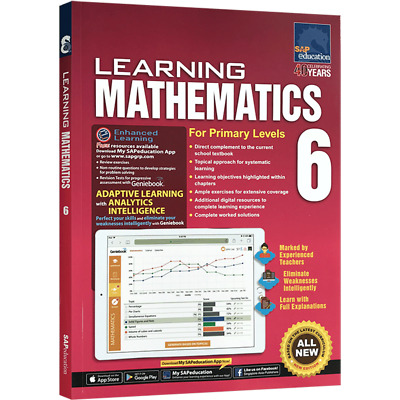 SAP Education Learning Mathematics For Primary Levels 6 - For AU Year 6 Year 7