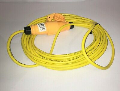 110 Volt 14 Amp Extension Lead 14m Long Trade Professional Yellow 110V Brand New