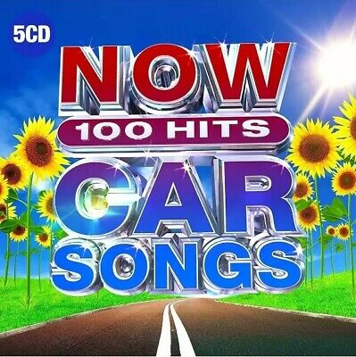 Now 100 Hits Car Songs CD 5 Discs New & Sealed Various Artists