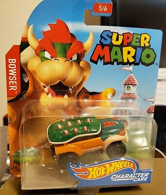 Hot Wheels Characters Bowser Car Super Mario 4 99 Picclick