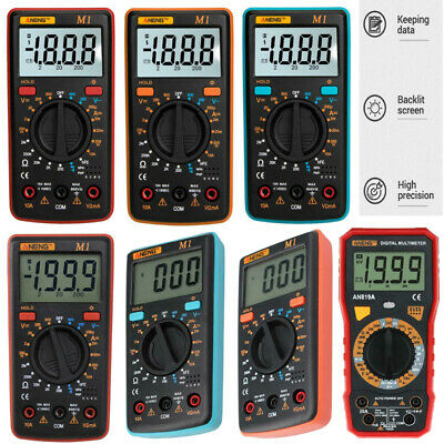 ANENG LCD Display Digital Multimeter AC/DC Voltage/Current/Resistance/NCV Meter