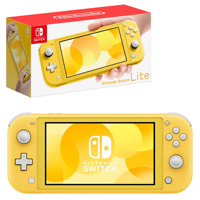 Nintendo Switch Lite Yellow Console NEW PREORDER 20/9