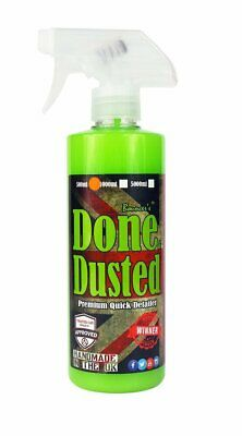 Bouncer's Done and Dusted 500ml Quick Detailing Detailer Spray, High Gloss Shine