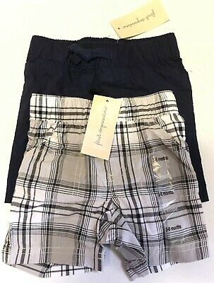 NEW First Impressions Baby Boy Shorts Lot of 2 Size 3-6 Months