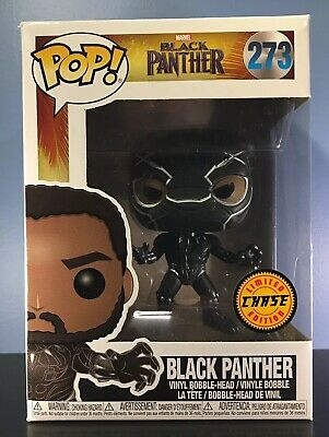 Funko POP! Marvel #273 - Black Panther with Mask (CHASE) - NEAR MINT UNOPENED