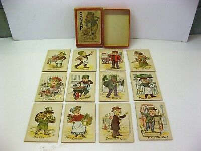 Late 19th Century Snap Card Game Complete with Box Very Good Condition