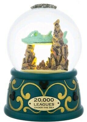 Disney Parks 20,000 Leagues Under The Sea Light Up Snow Globe New