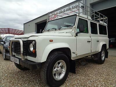 Land Rover 110 Defender 2.5Td5 County Td5,12 SEATS!!!!! FAB to DRIVE,12 SEATS!