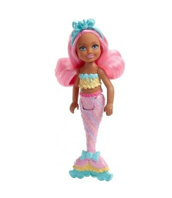 Barbie Dreamtopia Mermaid Small Doll with Pink Hair