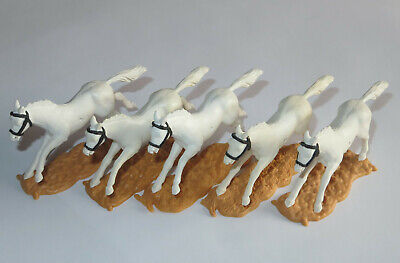 Timpo Toys  5  Pferde Cowboy Indianer Ritter Wikinger