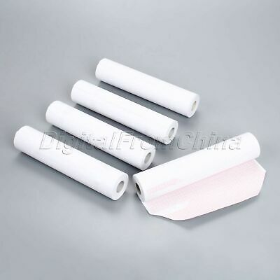 210mm*20m Clinic Thermal Printing Paper For ECG EKG Machine 12-channel 5 Rolls